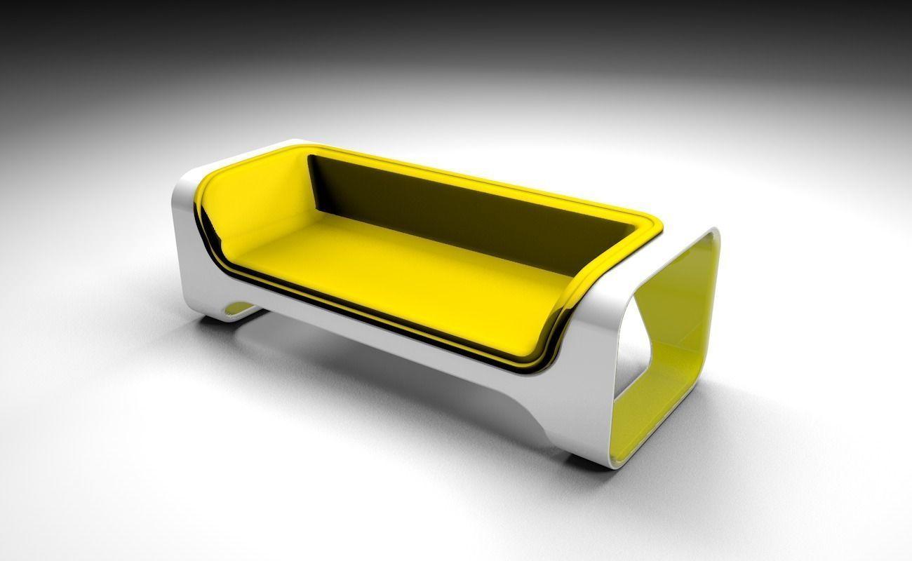 Yelow sofa