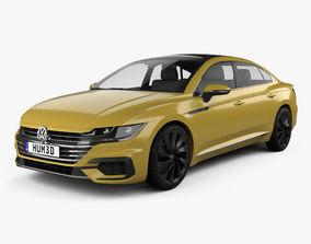Volkswagen Arteon R-Line 2017 3D model