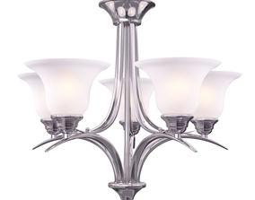 3D model Volume Lighting Trinidad 5-Light Brushed Nickel