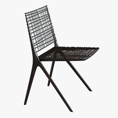 Janus Et Cie Branch Side Chair 3d Model Max Obj Mtl 3ds Fbx Unitypackage  Prefab 1 ...