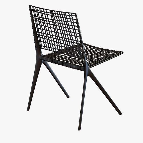 ... Janus Et Cie Branch Side Chair 3d Model Max Obj Mtl 3ds Fbx  Unitypackage Prefab 2 ...