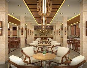 Traditional Restaurant 3D model sketchup