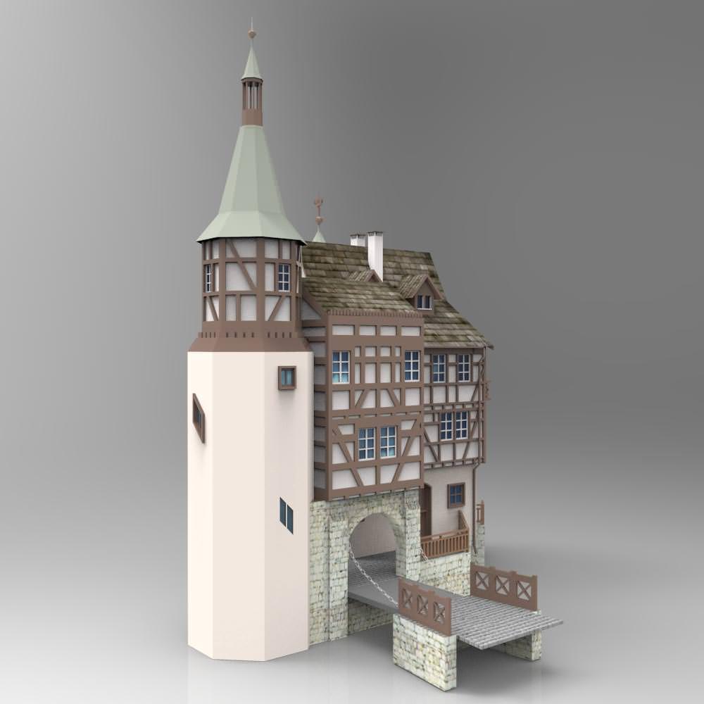 Gutenbach studio max 3d model max tga pdf for 3d studio max