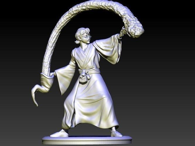 presto the magician 3d model stl 1
