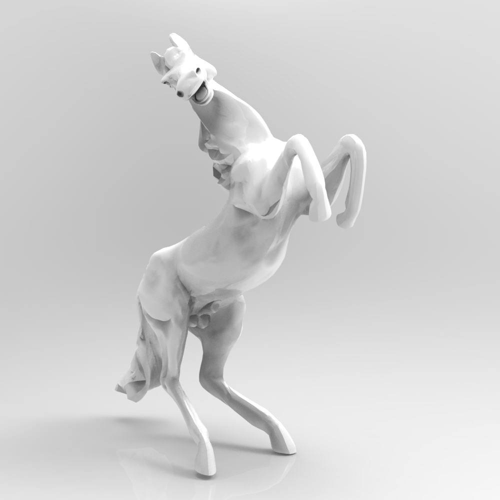 small horse statue 3d - photo #32