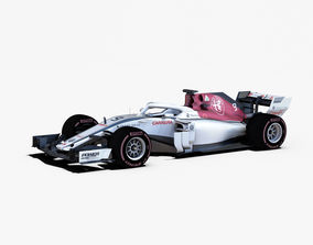 Alfa Romeo Sauber C37 Car 3D model
