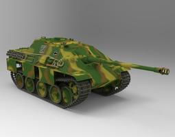 3d jagdpanther tank destroyer