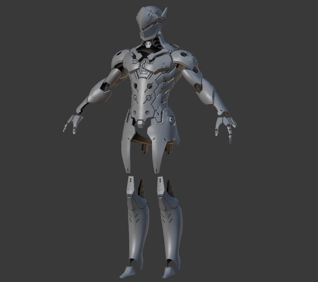 Genji Armor from Overwatch