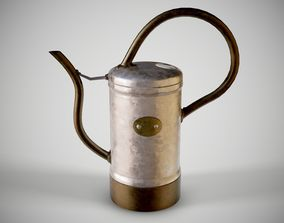 Small Watering Can 3D asset