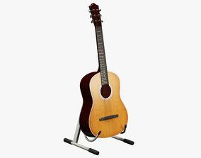 3D Generic Classic Guitar 01
