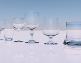 3D Pack of glasses