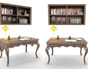 3D model Venedik Study Desk