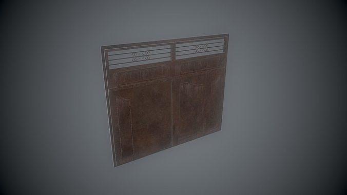Old Rusty Metal Gates
