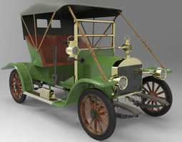 Opel Coupe 1909 3D