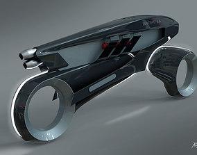 3D model The Tron Drone Bike version 3x