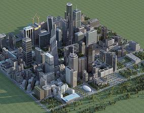 3D Big City H