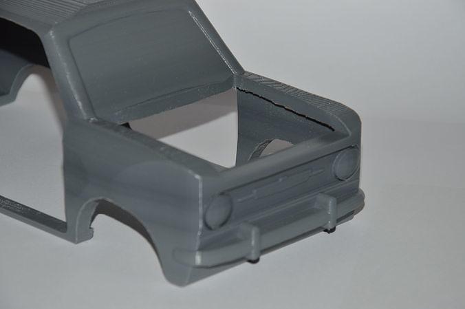 fiat 850 - 3d printable model 3d model stl 1