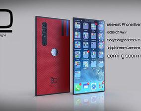 FD brand Phone Modal- FD 01 3D asset
