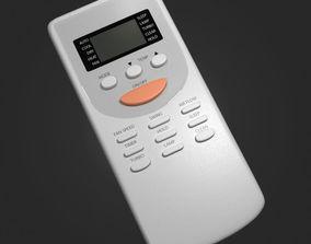 3D model Air Conditioner Remote