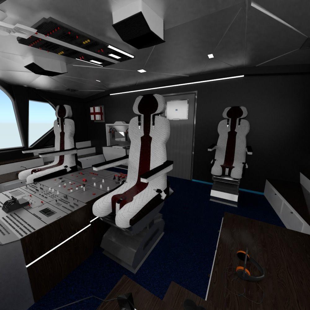 Airplane Airbus Cockpit Interior | 3D model
