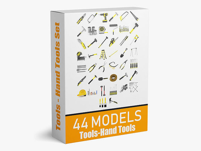 44 Models Machine Tools and Hand Tools Collection | 3D model