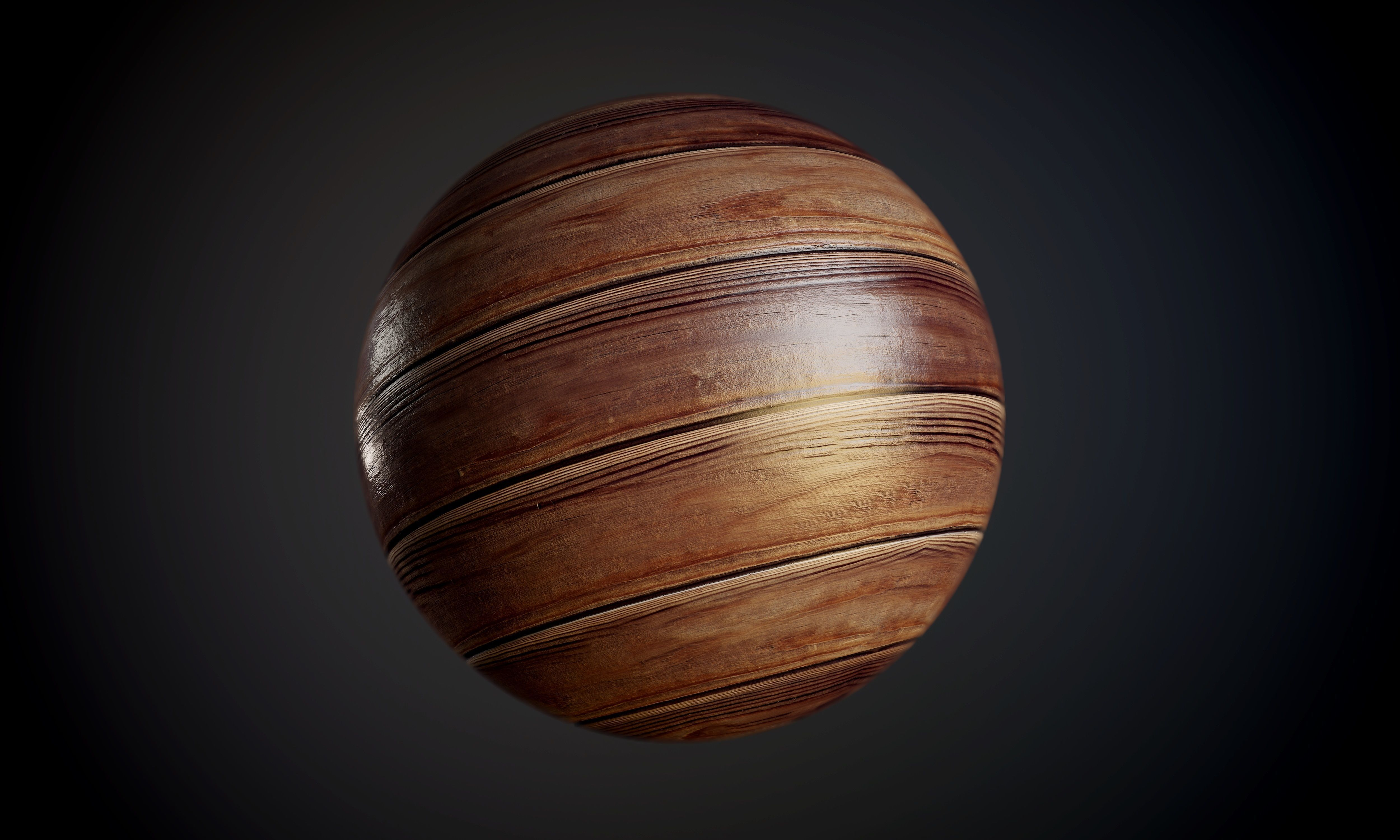 Wood Floor Seamless PBR Texture