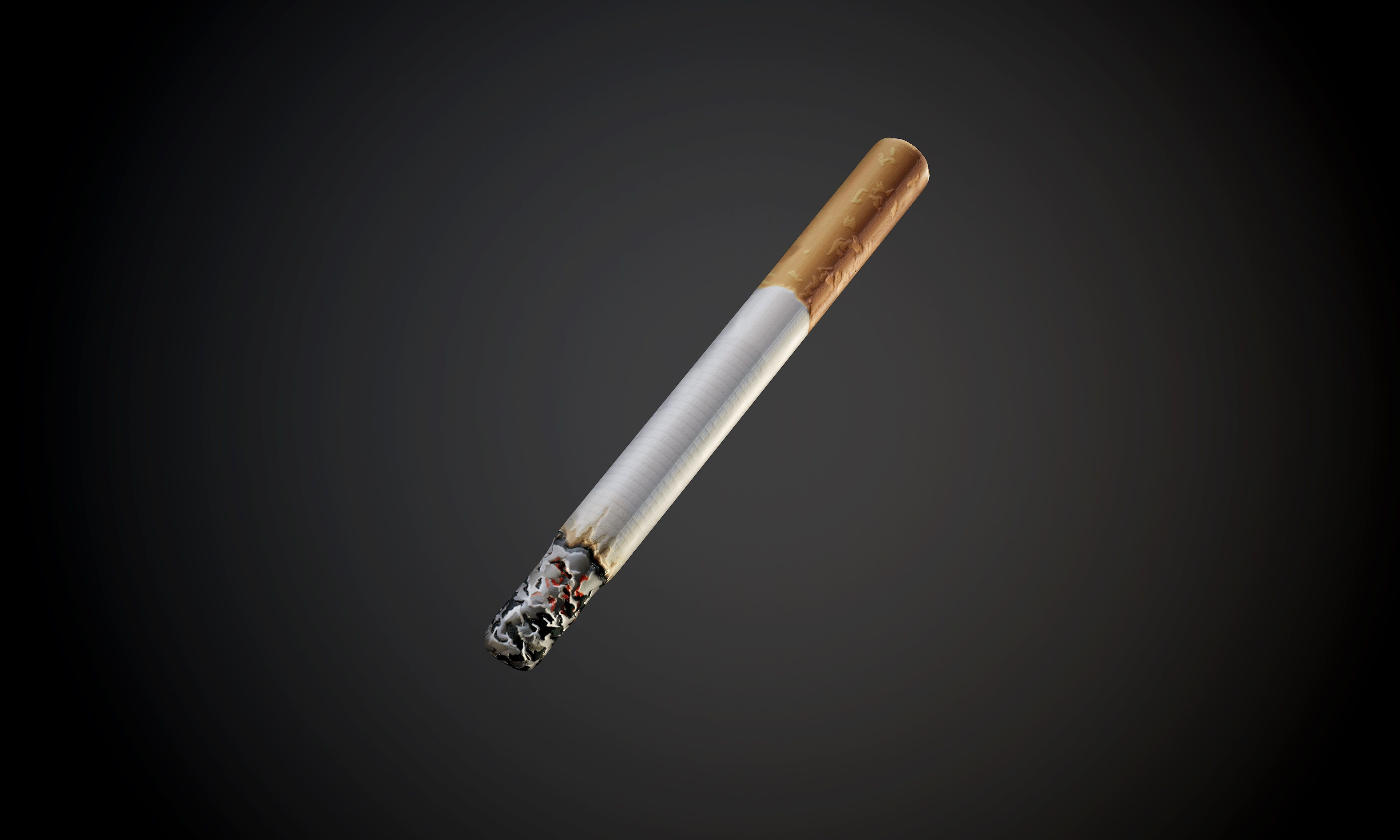 Cigarette Atlas with Alpha Mask Seamless PBR Texture
