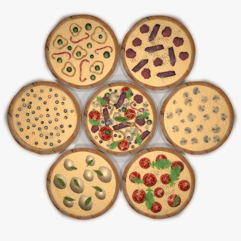 Assorted Pizza Set