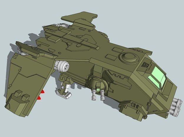 6mm and 8mm FireTurkey Gunship