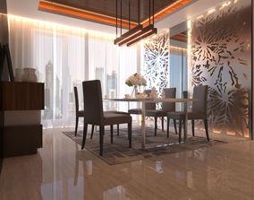 Interior Dining Room 3D