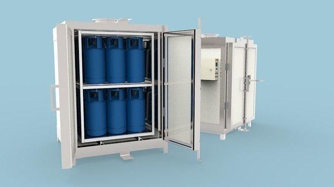 powder coating oven machine 3d model obj mtl stl sldprt sldasm slddrw ige igs iges pdf 1