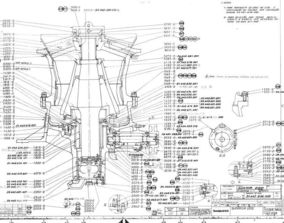 HIDROCONE CRUSHERS H2000 Cone Crusher Sandvik 3D model