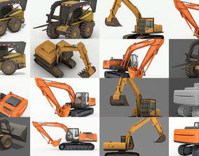 3D Excavator Collections