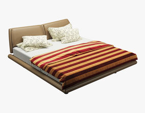 Photorealistic Bed 007 3D