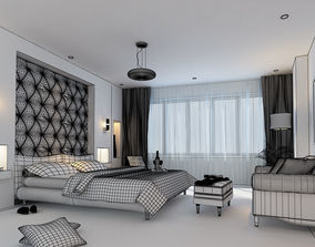 sleep 3D model Bedroom
