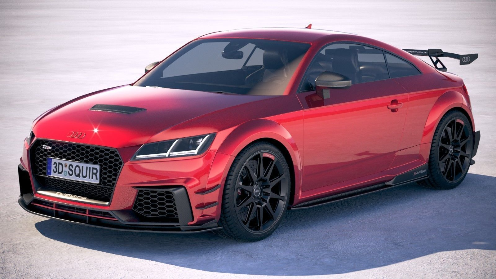 Audi TT RS performance 2018