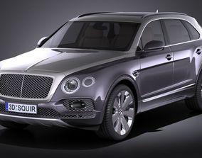 Bentley Bentayga Mulliner 2018 3D