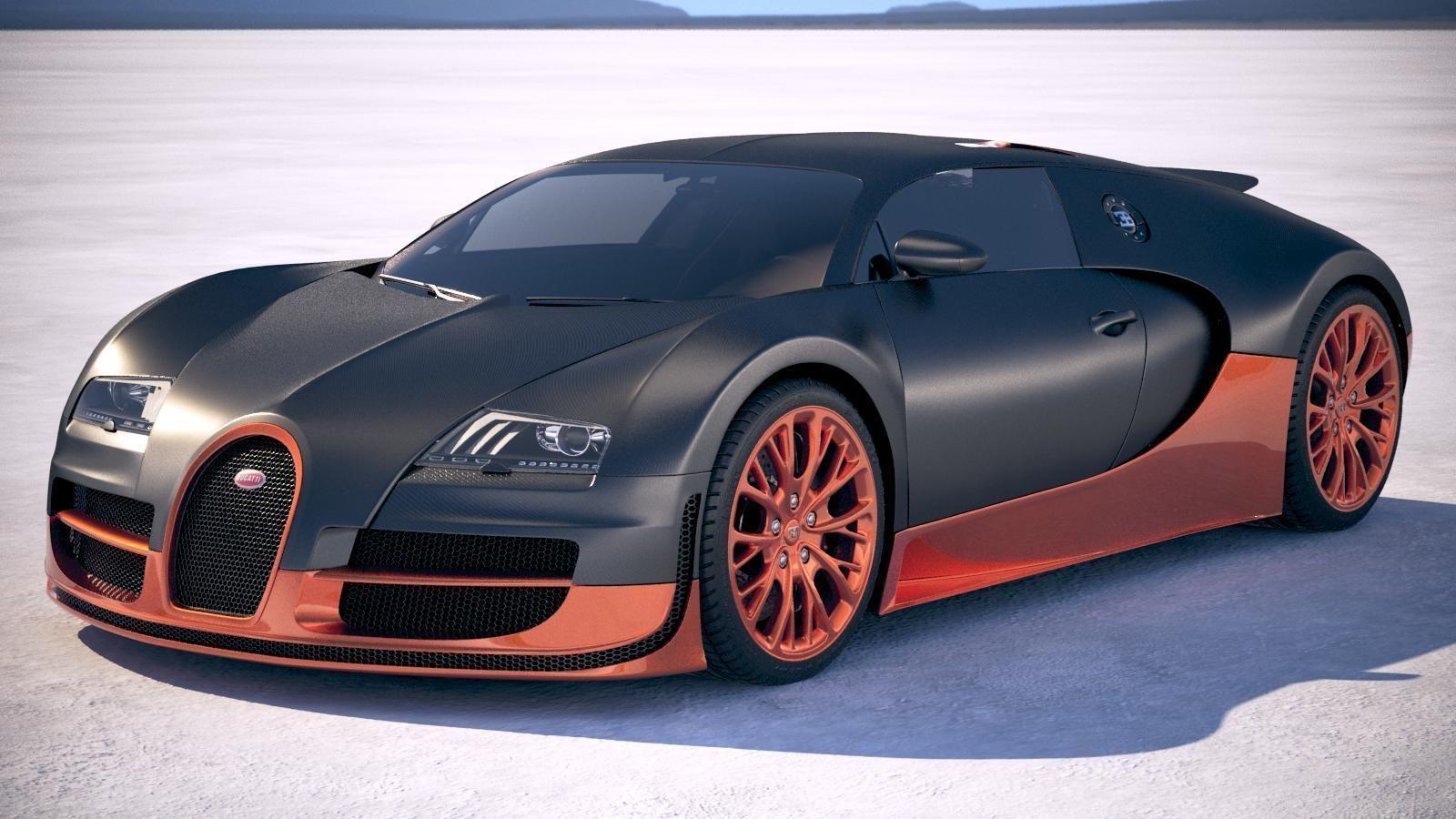Bugatti Veyron Super Sport 2012-2016 VRAY