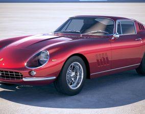 3D Ferrari 275 GTB 1964-1968