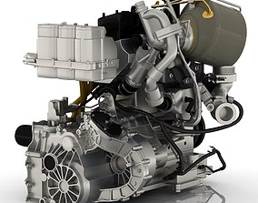Volkswagen - XL1 Engine 3d model