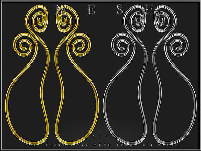 Raindrop Swirl - Curved