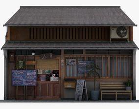 1001 Cafe 3D model