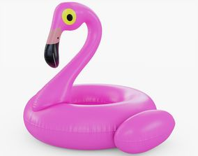 3D asset Flamingo Floating Pool Toy