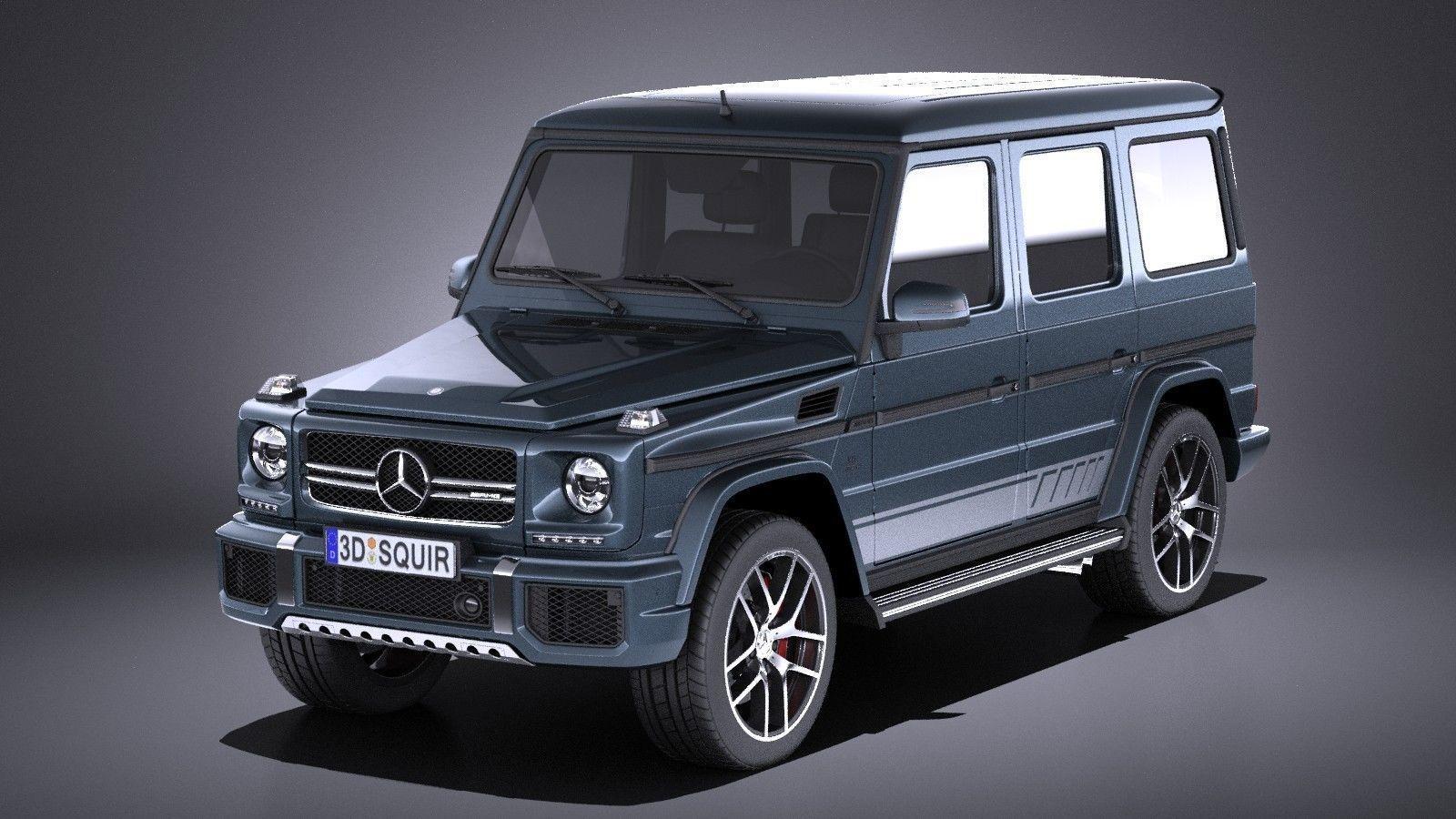 Mercedes-Benz G63 AMG 2017 VRAY