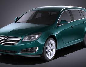 3D Opel Insignia sports tourer 2015 VRAY