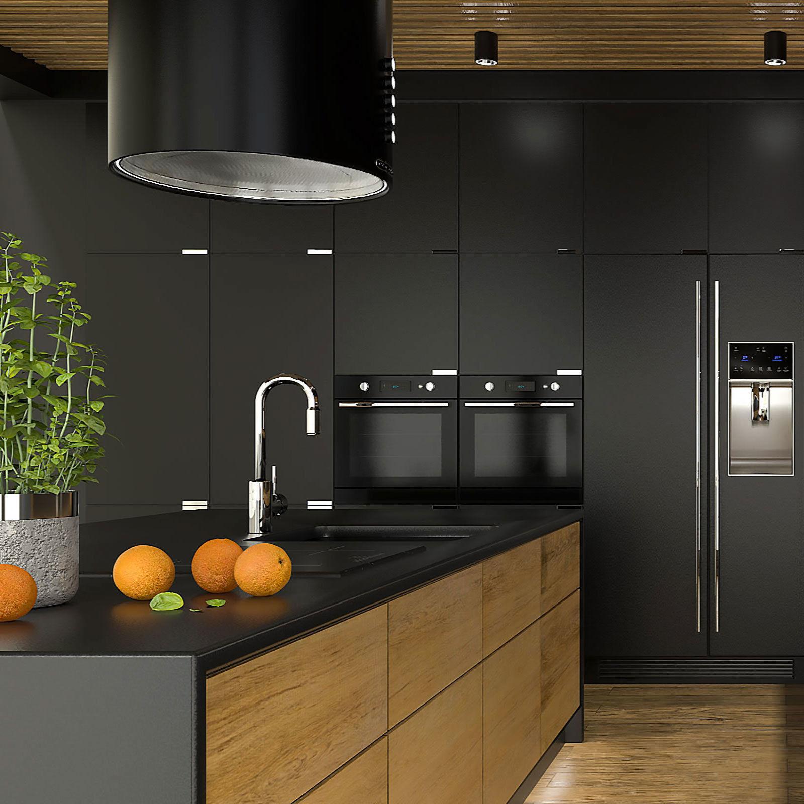 Modern kitchen interior   9D model