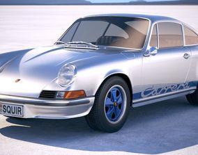 Porsche 911 Carrera RS 1973 porsche 3D