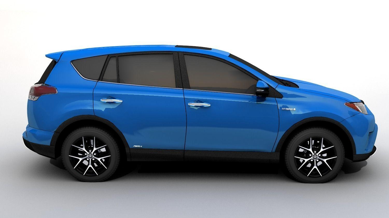 Toyota Rav4 2016 Model Obj Mtl S Fbx C4d Stl Dae 7