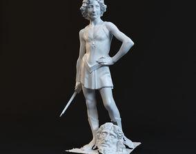 3D printable model David Statue goliath