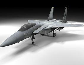 F-15C Eagle Lowpoly 3D model